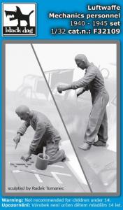 Luftwaffe mechanic personnel SET