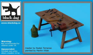 Work bench + tools