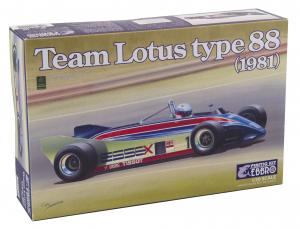 Kit Auto F1 Lotus Type 88 1981 1/20
