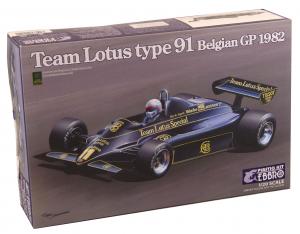Kit Team Lotus Type 91 Belgian Gp 1982 1/20