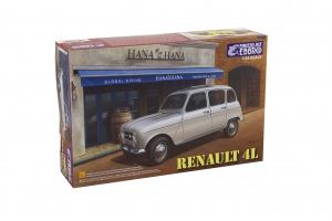 Kit Renault 4L 1/24