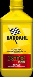 338141 OLIO BARDAHL XTC C60 10W50  MOTO 1LT.