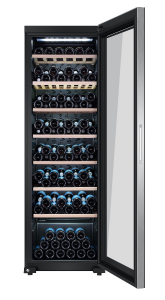 Haier WS171GA cantina vino Libera installazione Nero 171 bottiglia/bottiglie Cantinetta vino con compressore A