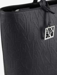Shopper donna ARMANI EXCHANGE con chiusura zip