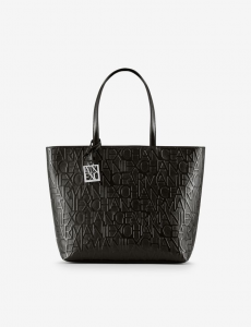 Shopper donna ARMANI EXCHANGE con chiusura zip