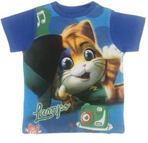 T-shirt 44 gatti taglie da 2 a 6 anni