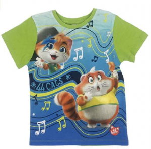 T-shirt 44 gatti bambino