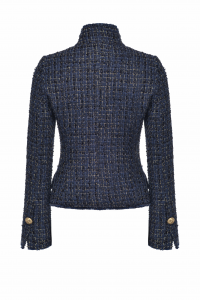 SHOPPING ON LINE PINKO GIACCA CABAN IN TWEED LUREX VLADIMIR 1  NEW COLLECTION WOMEN'S FALL WINTER 2020/2021