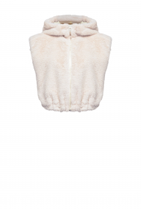 SHOPPING ON LINE PINKO GILET CORTO IN FAUX FUR EFFETTO LAPIN NEW COLLECTION WOMEN'S FALL WINTER 2020/2021