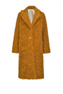 SHOPPING ON LINE PINKO CAPPOTTO REVERSIBILE FAKE SHEARLING DRACO NEW COLLECTION WOMEN'S FALL WINTER 2020/2021