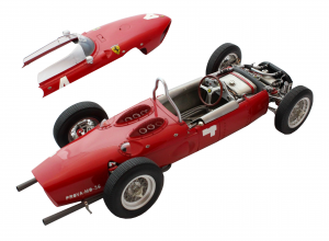 Ferrari Dino F1 1961 Masstab  Shark Nose 1/12