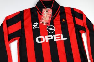 1994-95 Ac Milan Maglia Kit Home Ragazzo *Nuova