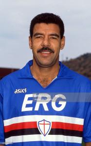 1990-91 Sampdoria Maglia Match Worn #8 Cerezo (Top)