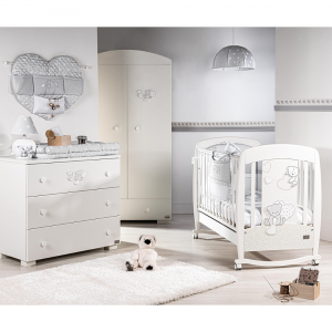 Armadio Cameretta Linea Amelie by Picci | Bianco