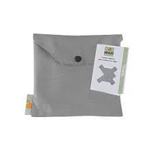 MHUG Travel, pratico e piccolo porta bebè ergonomico da viaggio,  color grigio
