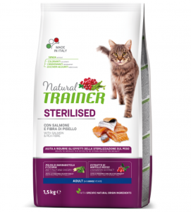 Trainer Natural Cat - Sterilizzato - 10 kg