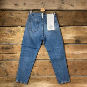 Jeans Uomo Amish Jeremiah Columbus Blu Used
