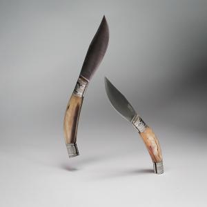 KNIFE ORIGINAL ARBURESA  MANICO IN CORNO DI MONTONE