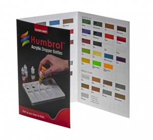 Humbrol Acrylic Colour Chart