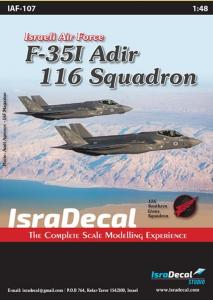 Lockheed-Martin F-35I 'Adir' 116 Sq