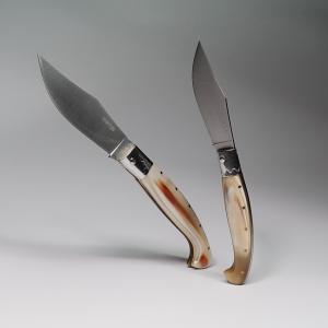 KNIFE ARBURESA MODELLO CACCIA MANICO IN CORNO DI BOVINO