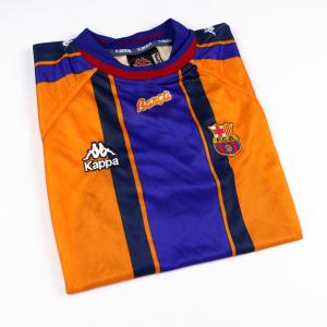 1997-98 Barcelona Maglia Away L (Top)