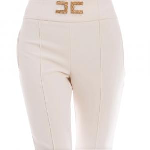 Pantalone donna ELISABETTA FRANCHI PA35806E2 193BURRO  -20