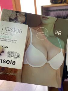 Push- Up +1 Gisela con ferretto e bretellina multiposizione