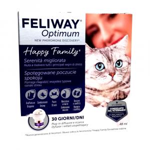 Feliway Optimum  - diffusore + ricarica 48 ml gatti- Ceva