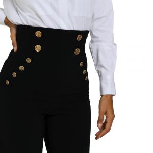 Pantalone donna ELISABETTA FRANCHI PA34806E2 110NERO  -20