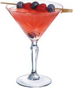 Set di 6 coppa Martini in vetro trasparente 21 cl Broadway