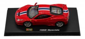Ferrari 458 Speciale Rosso Corsa 1/43