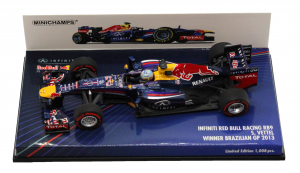 Infiniti Red Bull Racing RB9 Sebastian Vettel Winner Brazilian Gp 2013 1/43