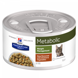 Hill's - Prescription Diet Feline - Metabolic Stew - 82g x 6 lattine