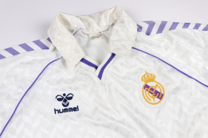 1987-88 Real Madrid Maglia Home L (Top)
