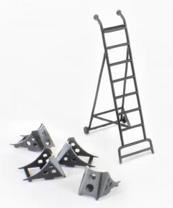 MiG-21 Ladder + Chocks Set