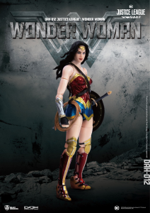 Justice League Action Figure: WONDER WOMAN by Beast Kingdom
