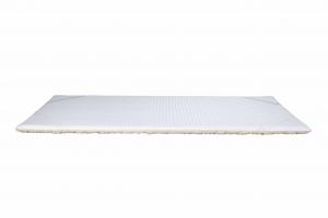 Topper Correttore Materasso Alto 4 cm con Lato Invernale e Lato Estivo | Modello Wool