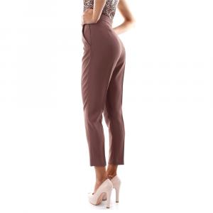 Pantaloni ELISABETTA FRANCHI PA36406E2 038CIOCCOLATO  -20
