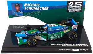 Benetton Ford B194 Michael Schumacher Winner Brazilian Gp 1994 1/43