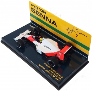 McLaren Honda MP4/5B Ayrton Senna Winner Canadian Gp 1990 1/43