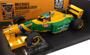 Benetton Ford B193B Michael Schumacher First Home Podium German Gp 1993 1/18