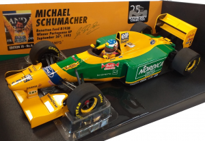 Benetton Ford B193B Michael Schumacher Winner Portuguese Gp 1993 1/18