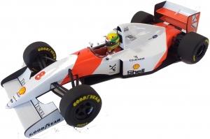 McLaren Ford Mp 4/8 Winner Japanese Gp 1993 Ayrton Senna 1/18