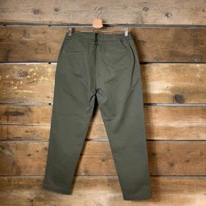Pantalone Uomo Amish Rick Slacks Verde Oliva