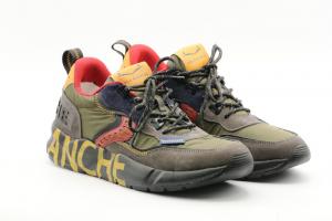 Voile Blanche-Sneakers Uomo Velour Club01/Nylon 0012015519.01.1B14