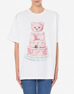T-SHIRT IN JERSEY CON TEDDY BEAR