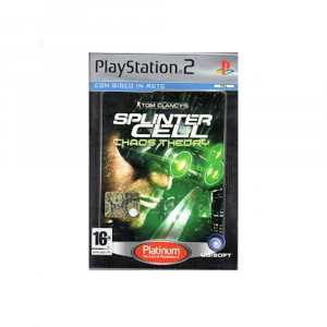 Tom Clancy's Splinter Cell: Chaos Theory - platinum - USATO - PS2