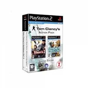 Tom Clancy's Action Pack - Rainbow Six 3 + Ghost Recon Advanced Warfighter - USATO - PS2