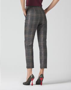 MANILA GRACE P067PQ Pantaloni chino madras